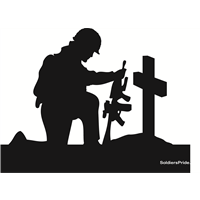 Kneeling soldier clipart images gallery for free download.
