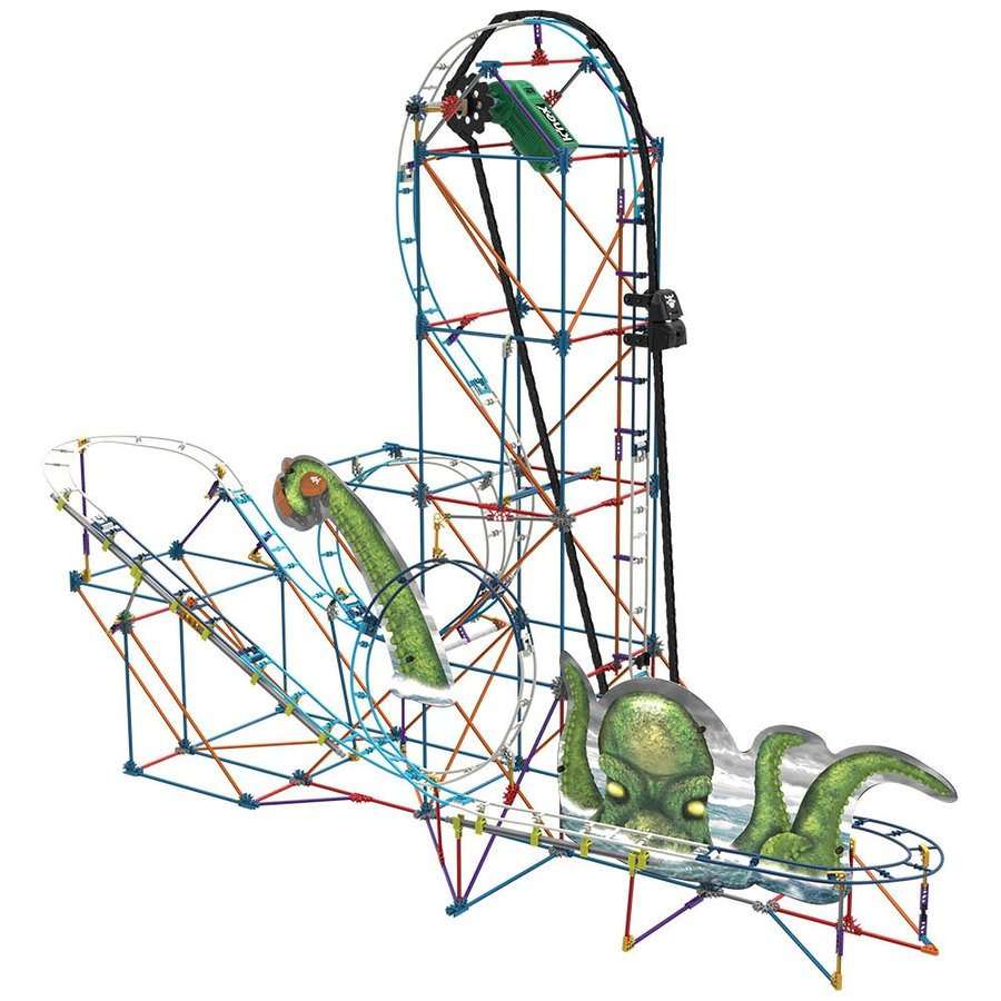 Download k nex thrill rides krakens revenge clipart K'NEX Thrill.