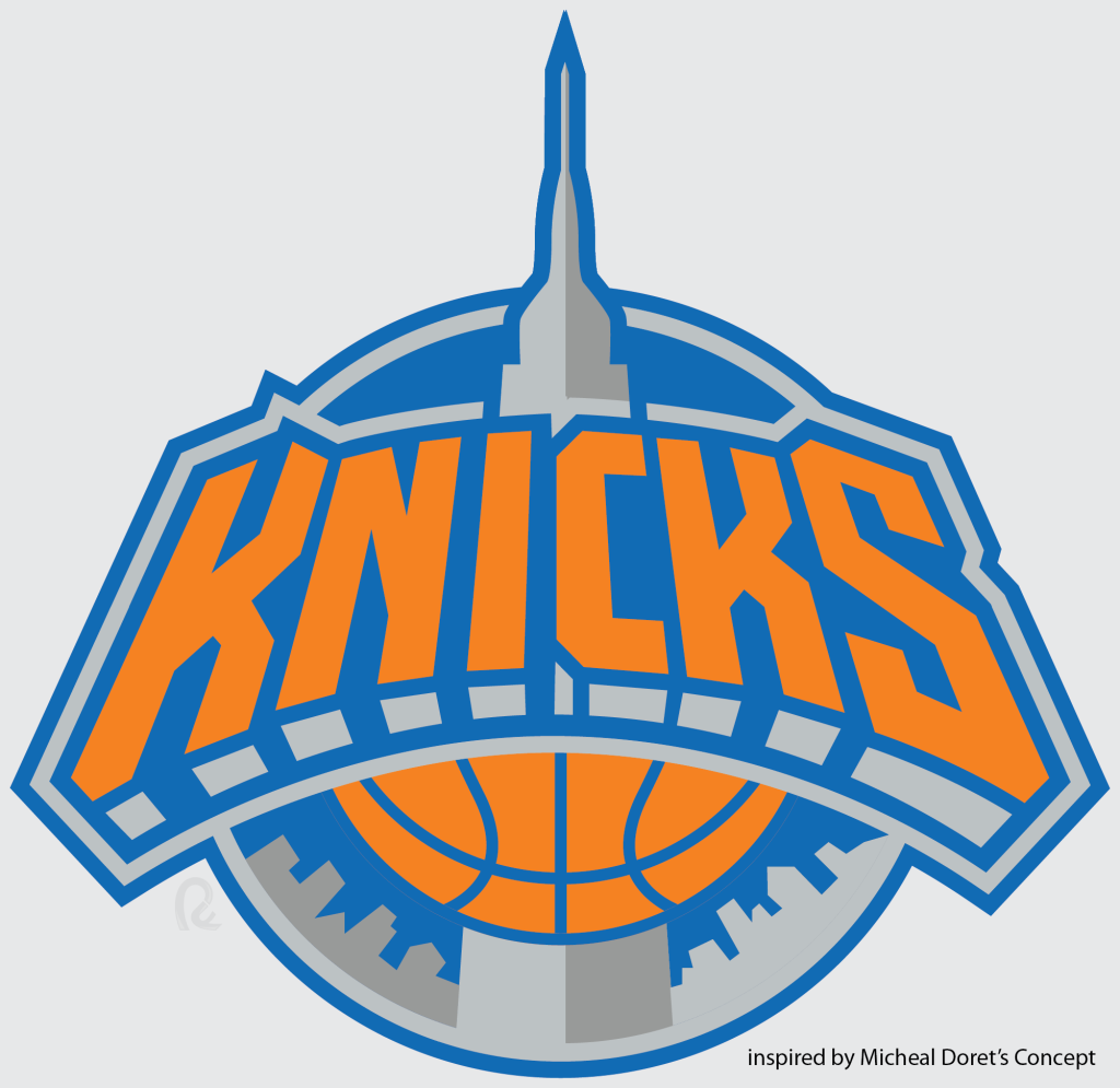 Knicks Logo Png Behind the knicks logo with michael doret sports.