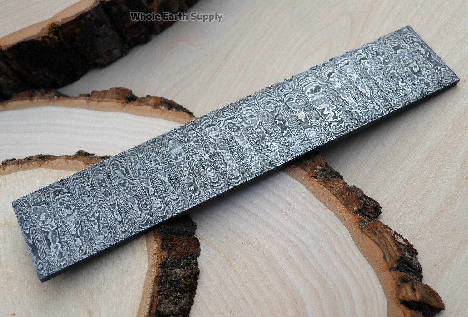 Damascus Knife Making Knives Blank Blade by WholeEarthSupply.