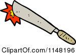 Cartoon of a Knife.