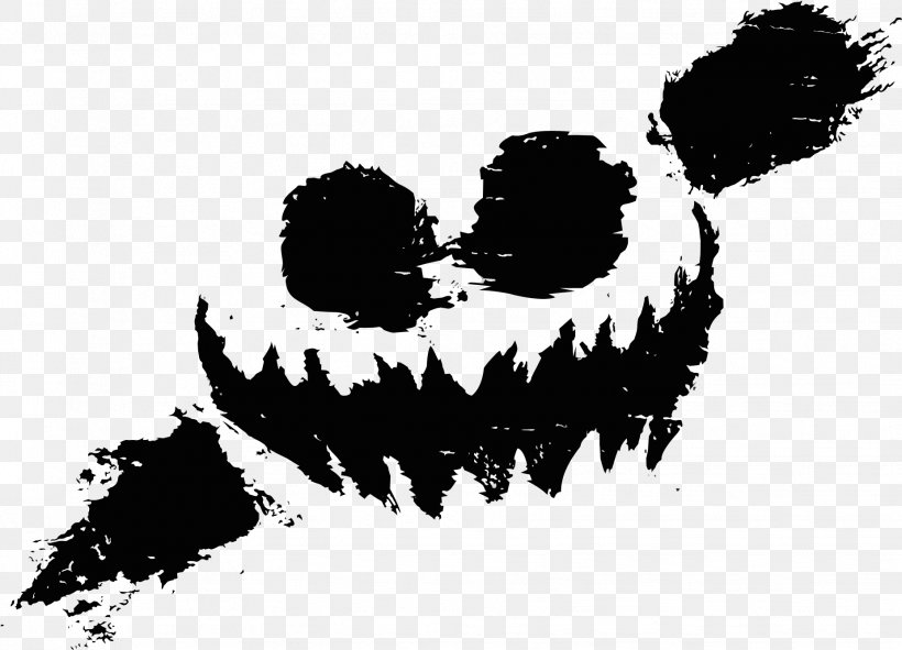 Knife Party Haunted House Dubstep Logo, PNG, 1853x1337px.