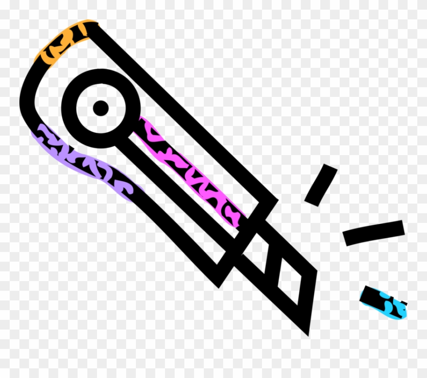 Retractable Blade Safety Knife Clipart (#4070698).