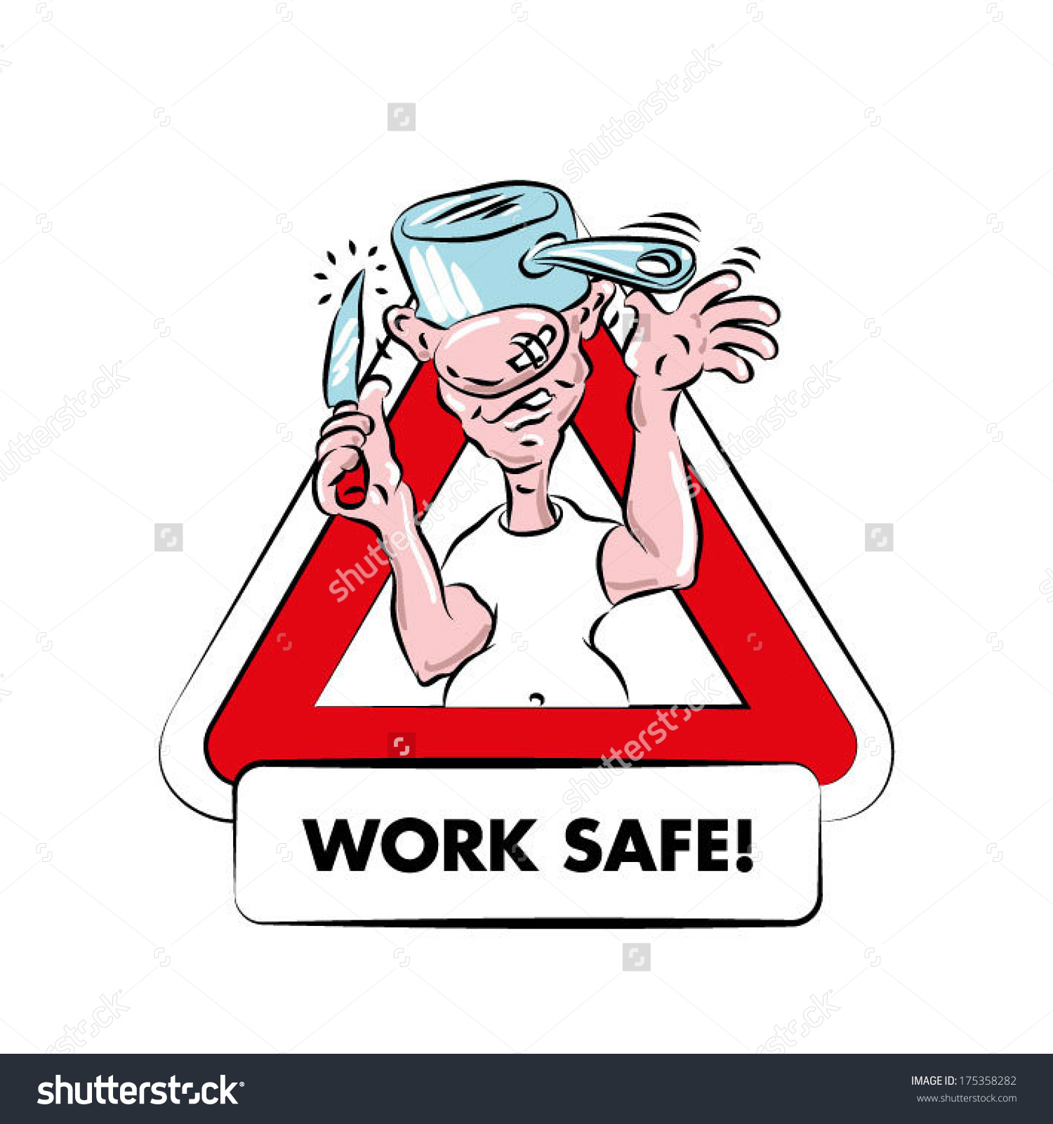 6668 Safety free clipart.