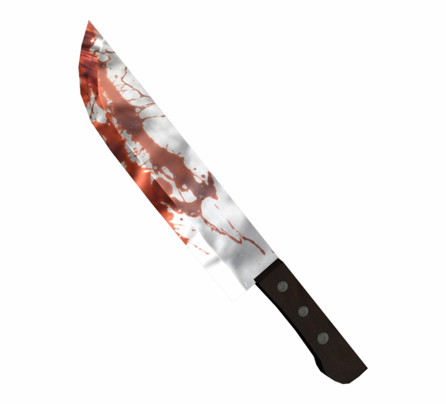 Bloody Knife Png.