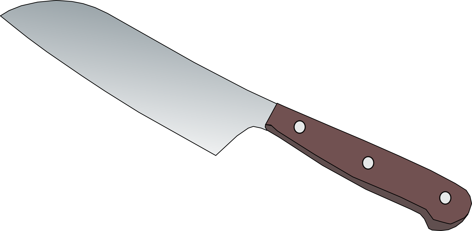 4178 Knife free clipart.