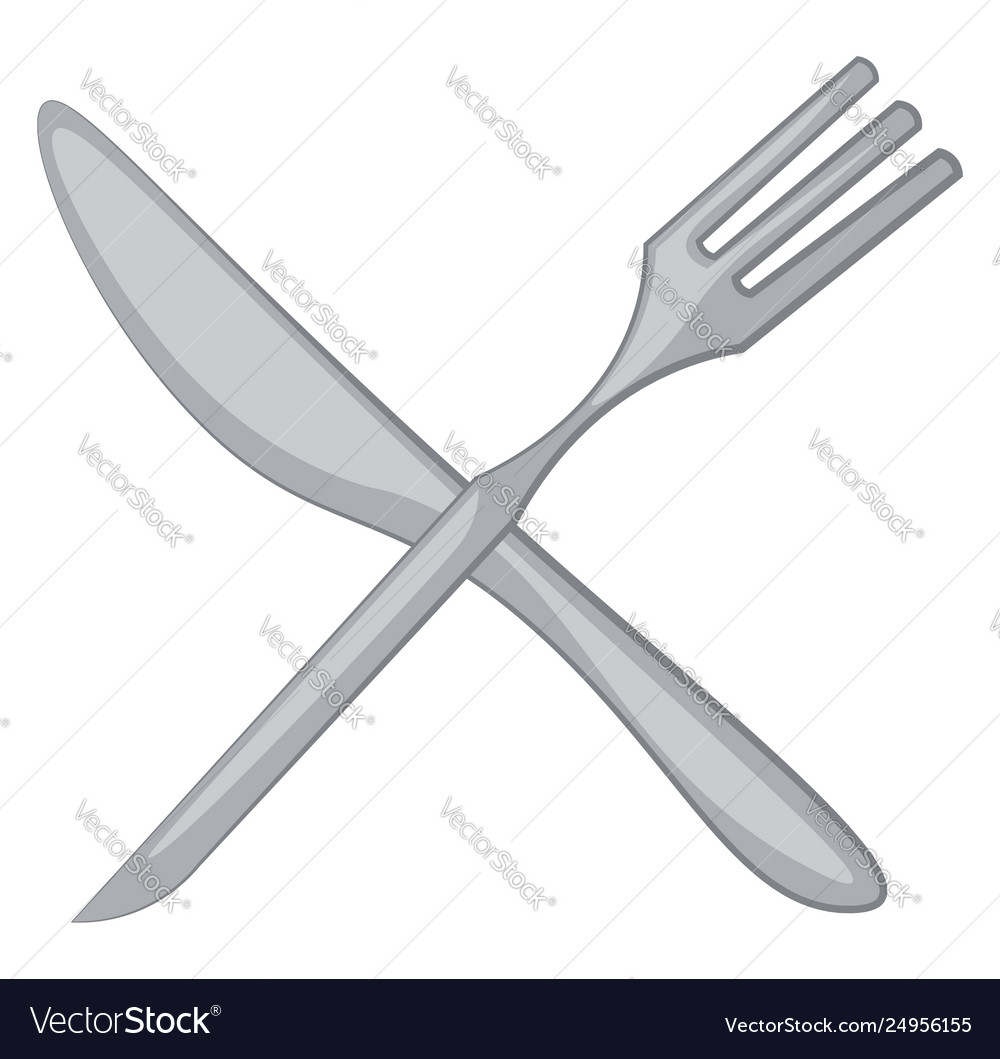 Clipart fork and knife or color.