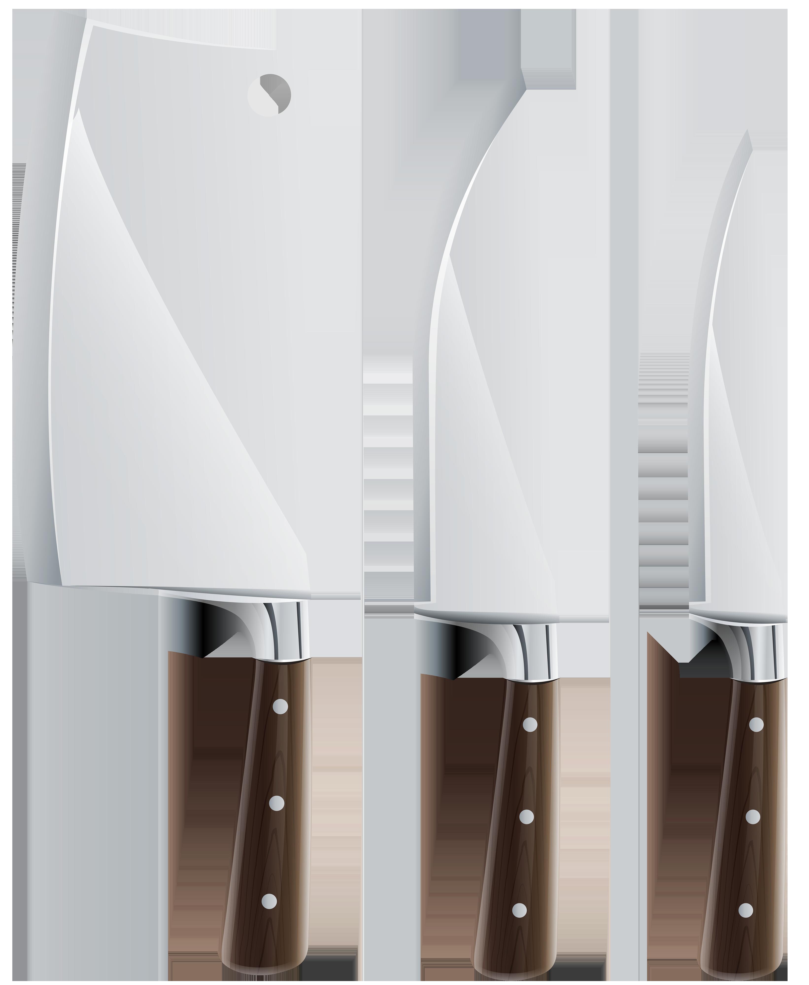Clip Art Kitchen Knives.