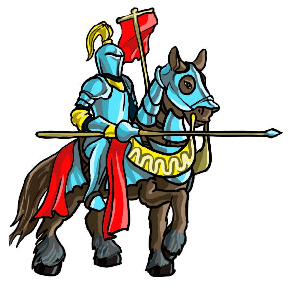 Medieval Knight Cartoon.