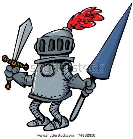 Knight Cartoons Stock Images, Royalty.