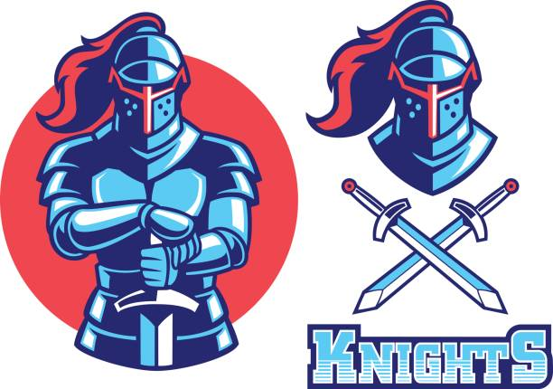 Best Knight Illustrations, Royalty.