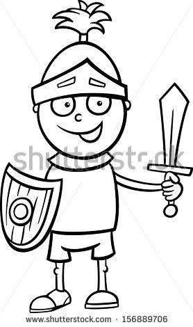 Knight Clipart Black And White (87+ images in Collection) Page 2.