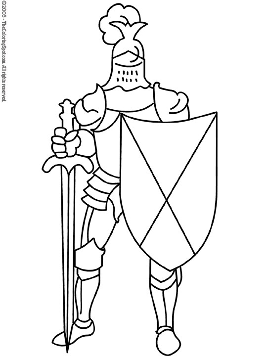 Knight clipart black and white 4 » Clipart Station.