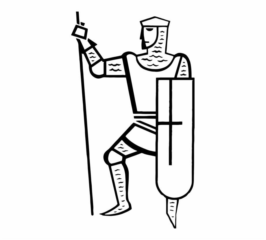 Knight Clip Art Christmas Black And White Computer.