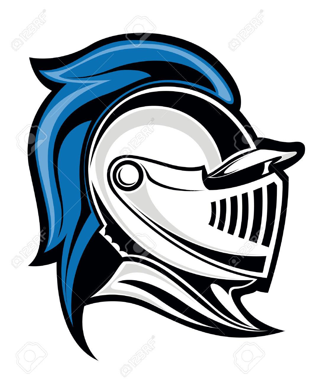 clipart knight head - Clipground