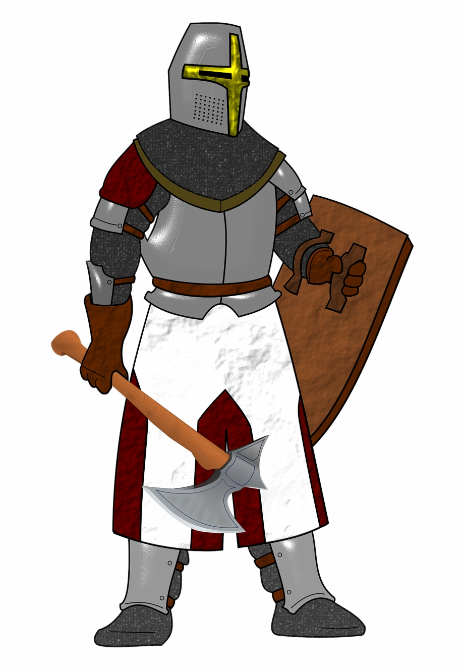 Free Knight Cliparts Download Clip Art On Banner Clipart.