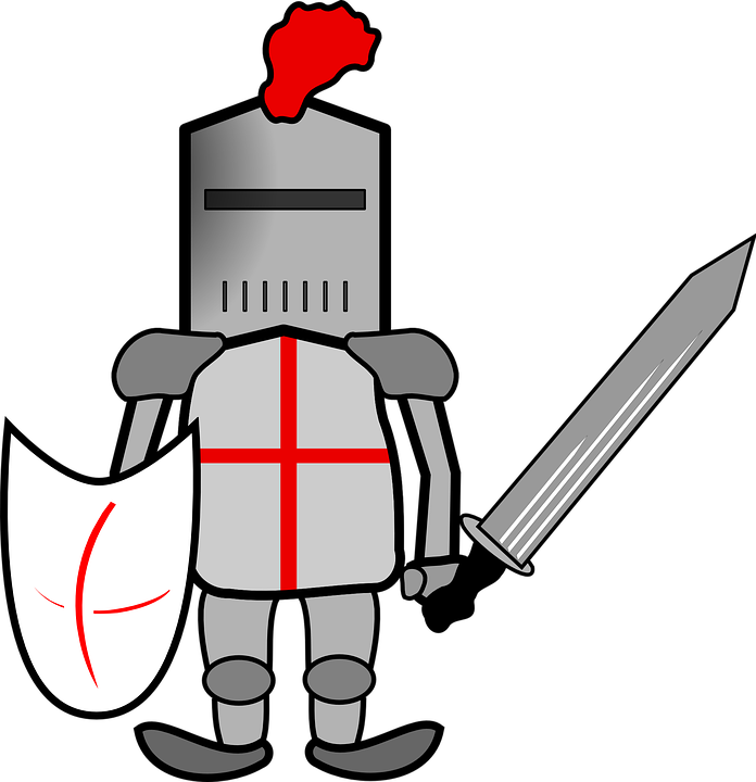 Knight clipart knights jousting, Knight knights jousting.