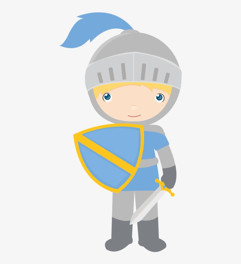 Knight Clipart Medieval Castle.