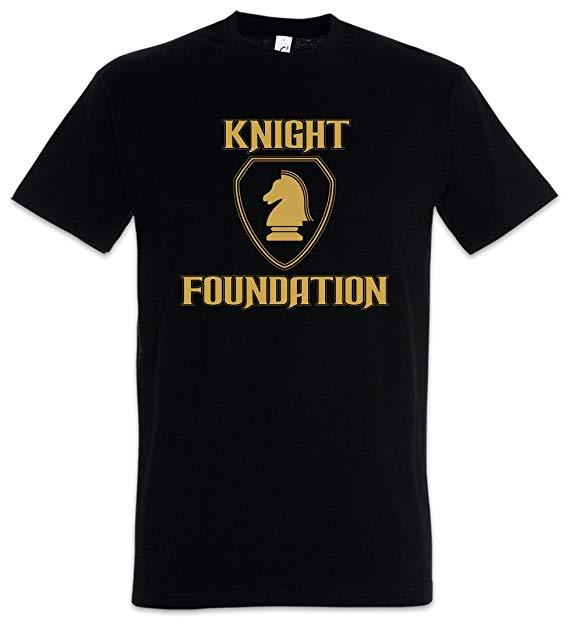 Urban Backwoods Black Knight Foundation Logo Men T.