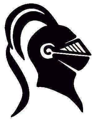 Knights head clipart.