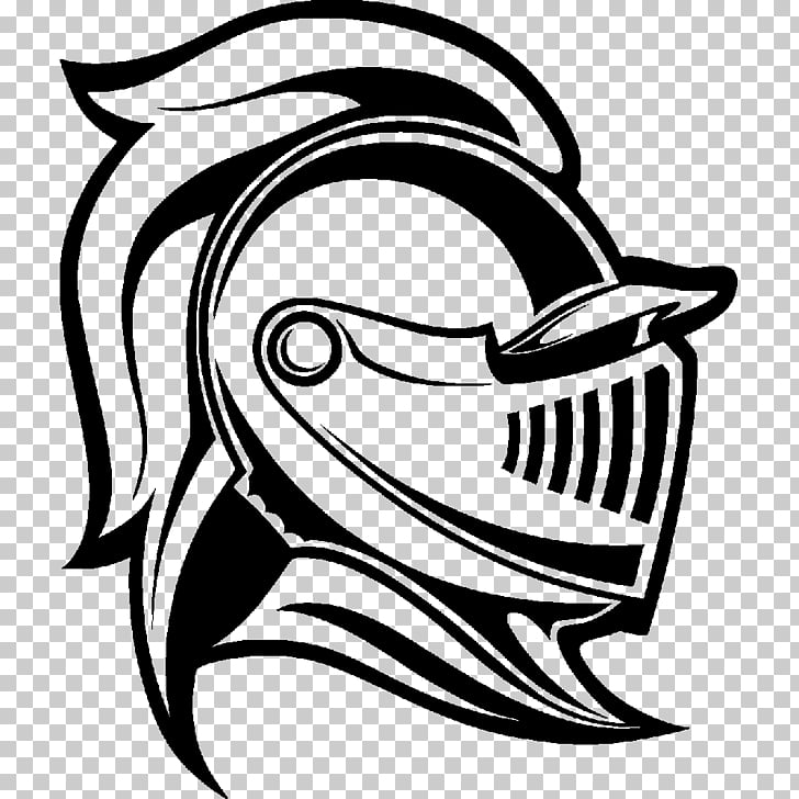 Knight Grand Erie District School Board Sticker Mascot.