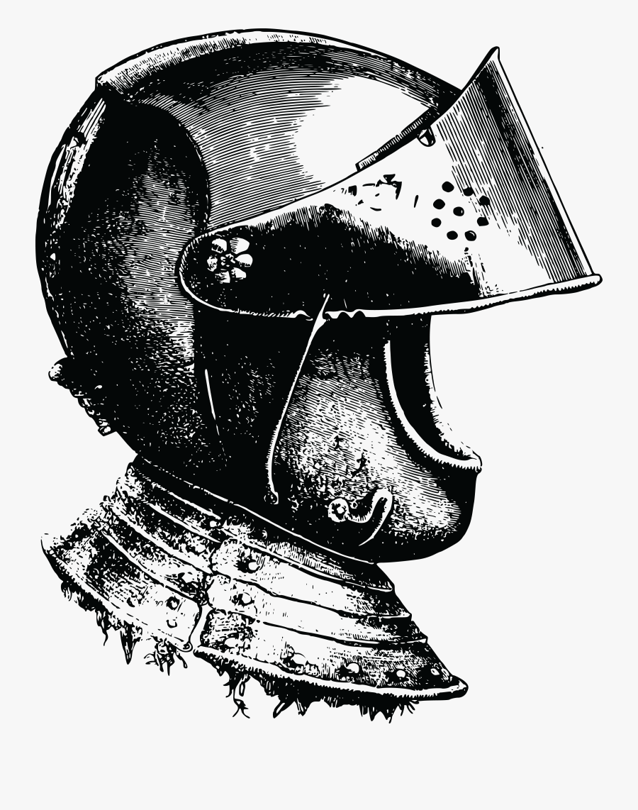 Free Clipart Of A Knight Helmet.