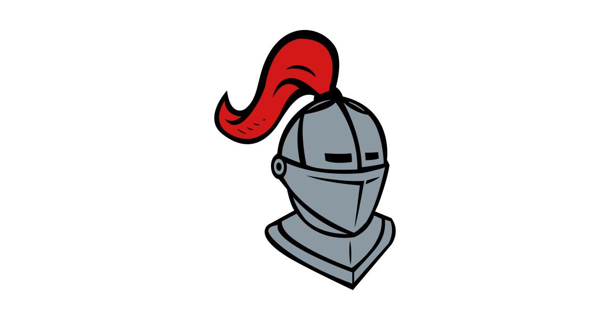Knight Helmet Logo by anotherone.