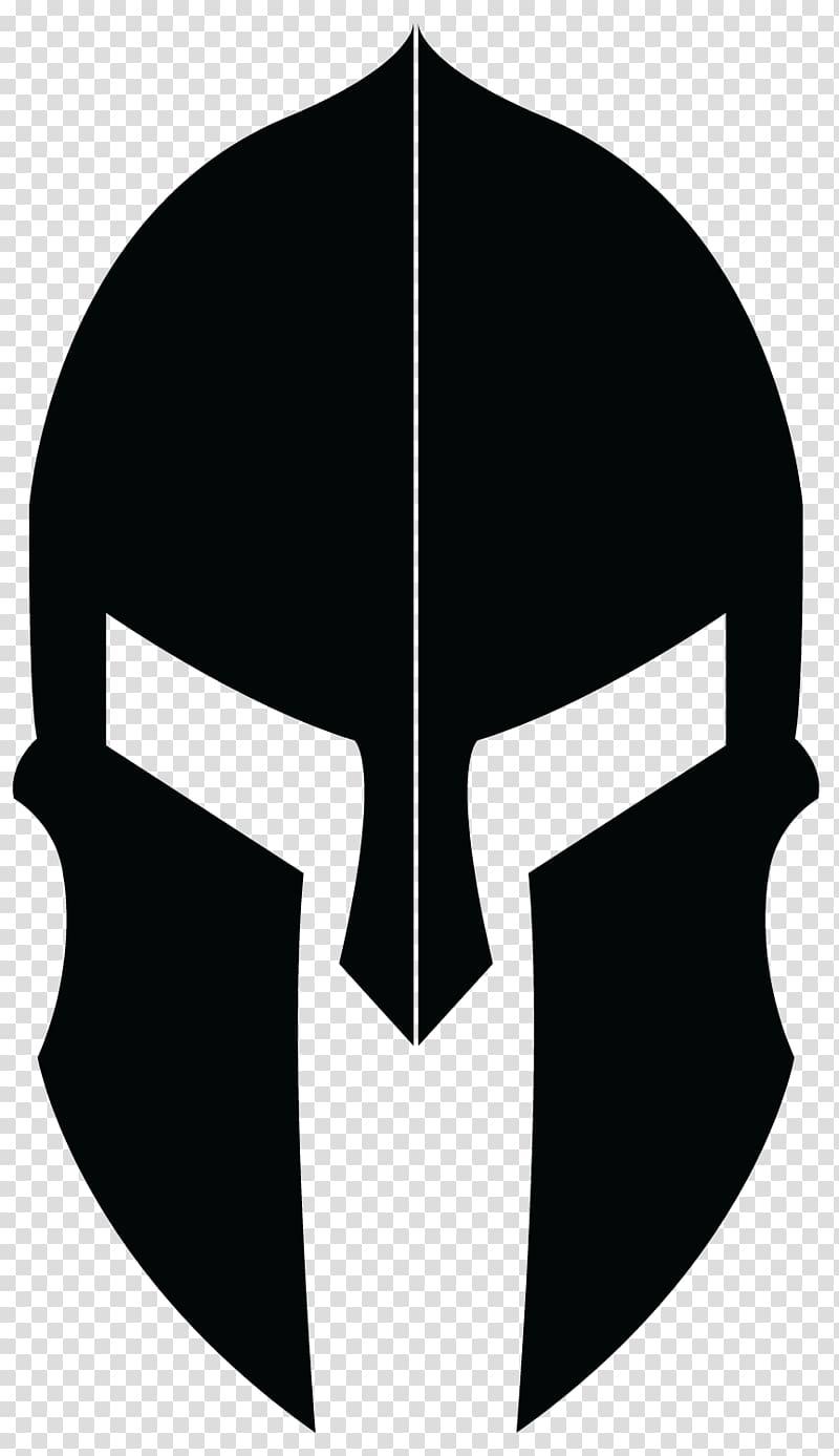 Knight helmet , Spartan army Logo Molon labe , gladiator.