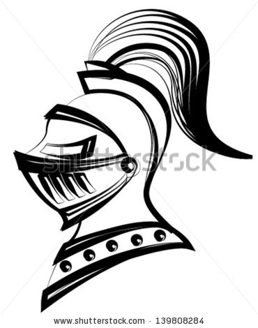 Medieval Knight Helmet Stock Images, Royalty.