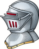 Advanced Helmet Clipart for Coat of Arms / Family Crest.