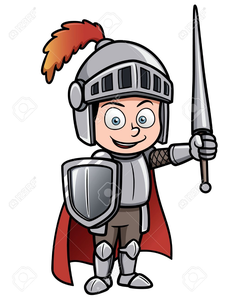 Clipart Of Knights In Armor.