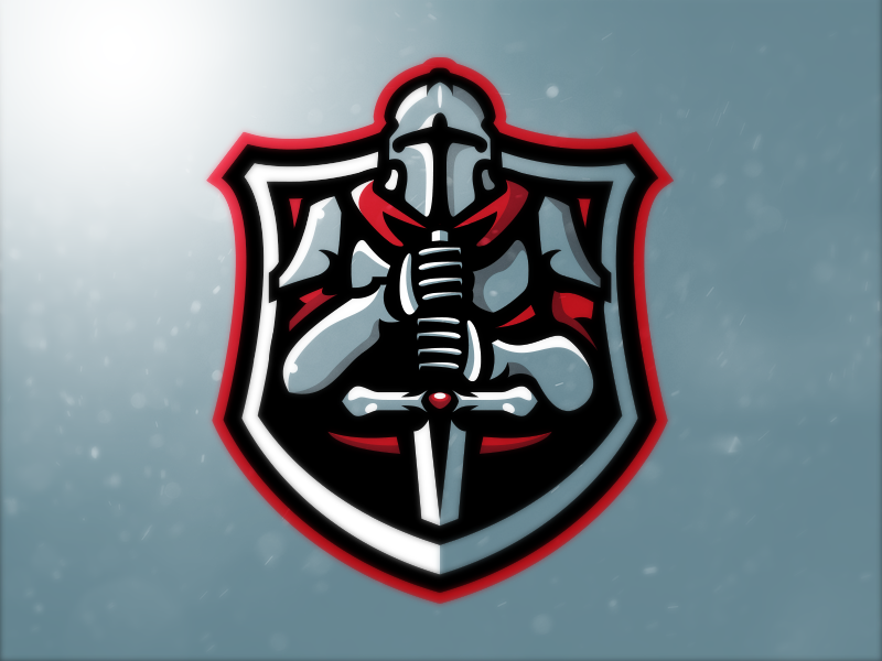 Knight Mascot Logo (For Sale).