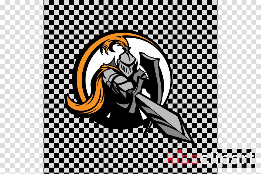 Mascot Logo clipart.