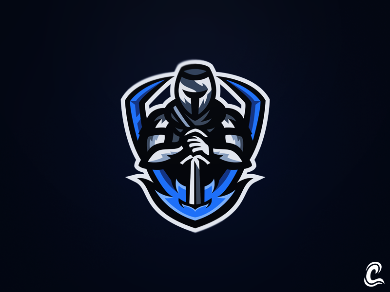 Knight Mascot Logo by William.