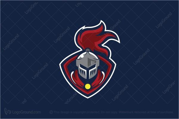 Exclusive Logo 120122, The Knight Mascot Logo.