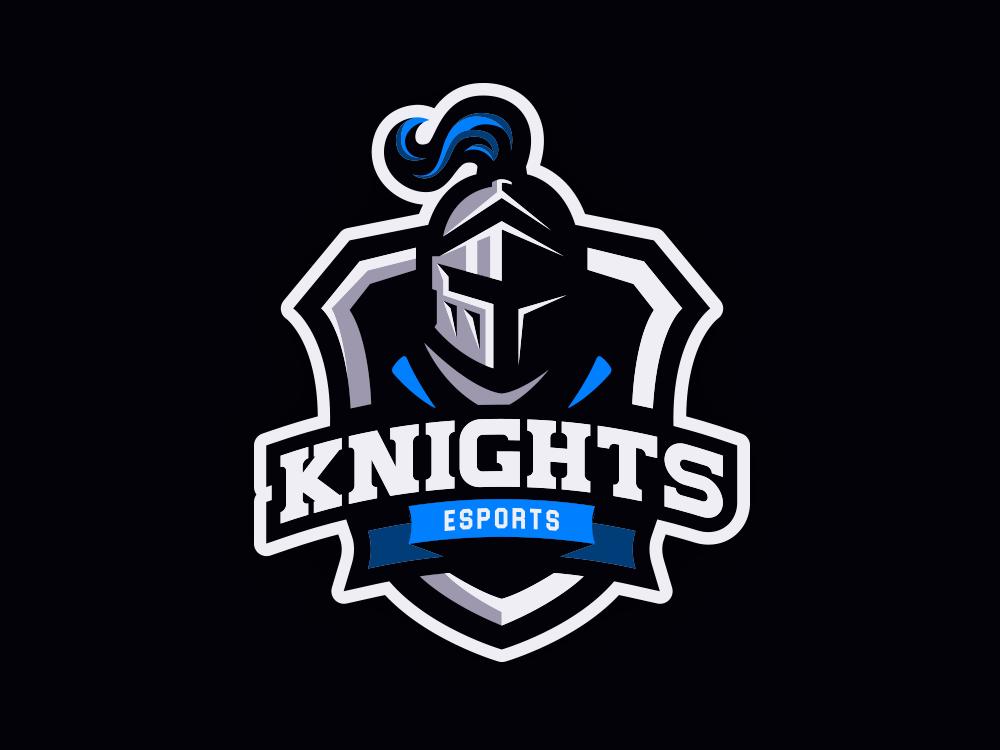 Knights Mascot Logo by Jef on Dribbble.