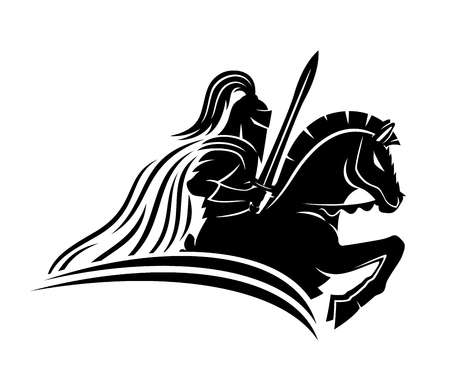 6,249 Knight On Horse Cliparts, Stock Vector And Royalty Free Knight.