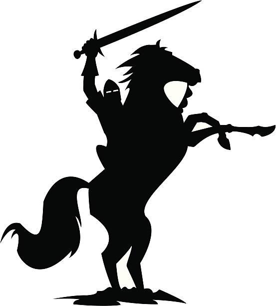 Best Knight On Horseback Illustrations, Royalty.