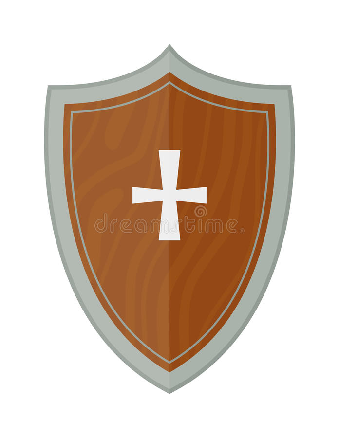 Knight Shield Vector Stock Illustrations.