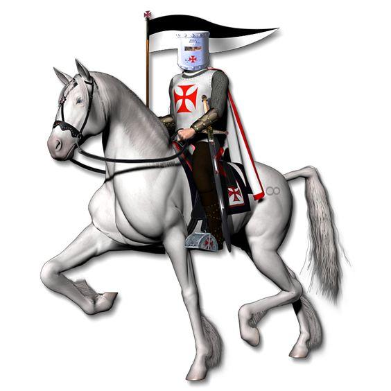 Knight On Horse Clip Art.