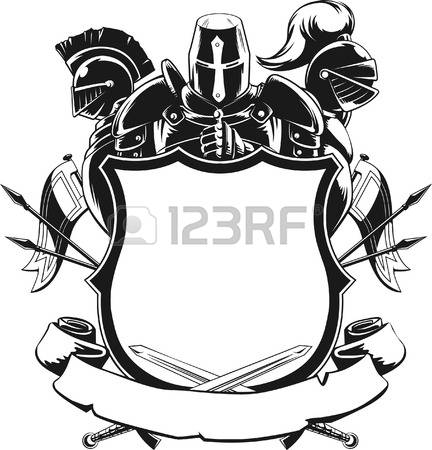 7,474 Silhouette Knight Stock Vector Illustration And Royalty Free.