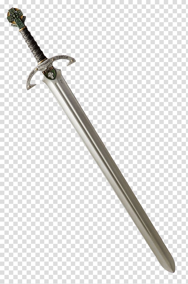 Knightly sword Weapon, Knight Sword transparent background PNG.