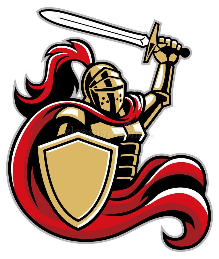 Knight Shield Stock Illustrations.