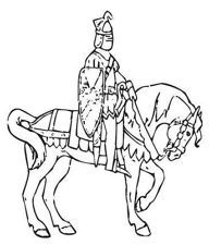 free clip art knights.