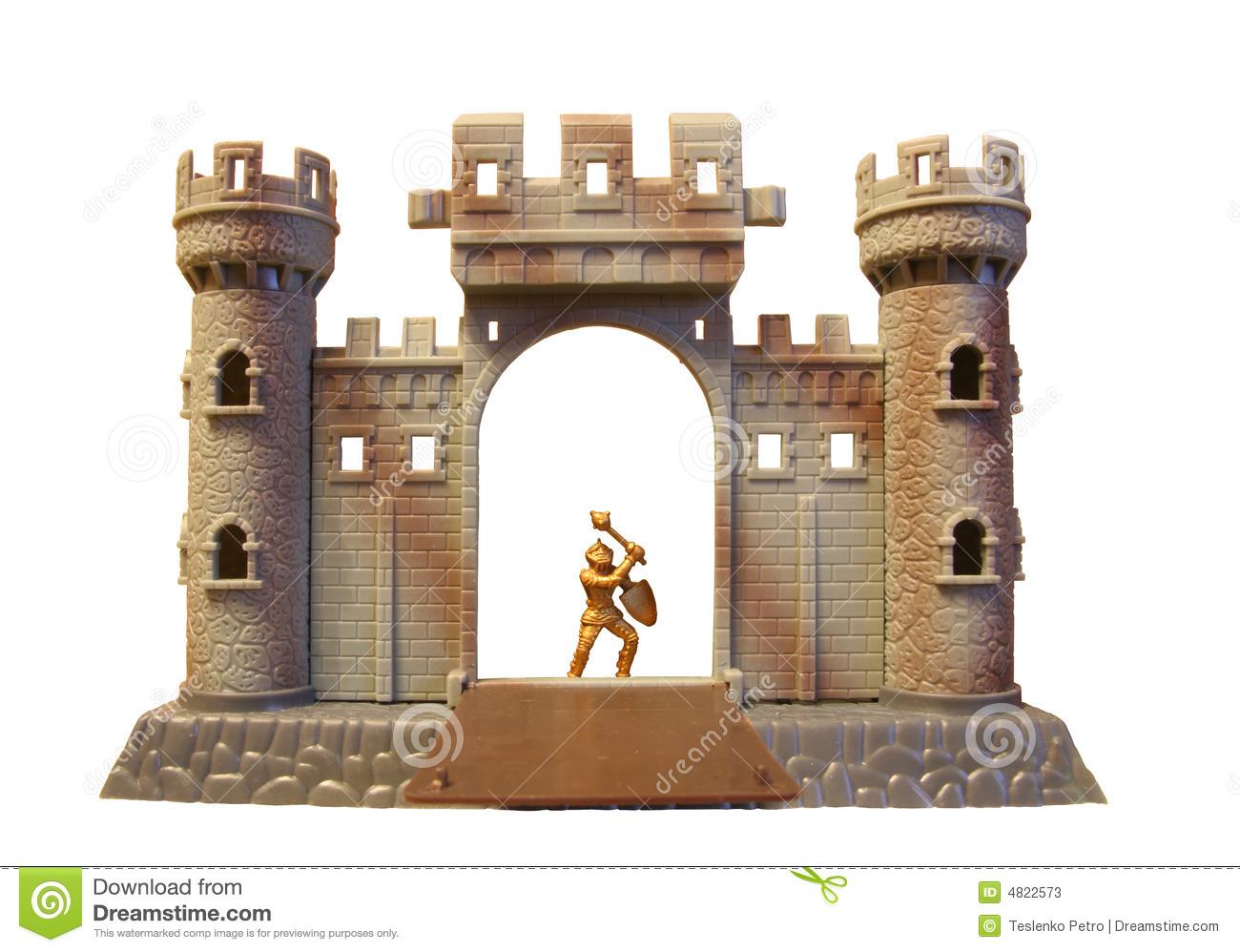 Knight clipart castle.