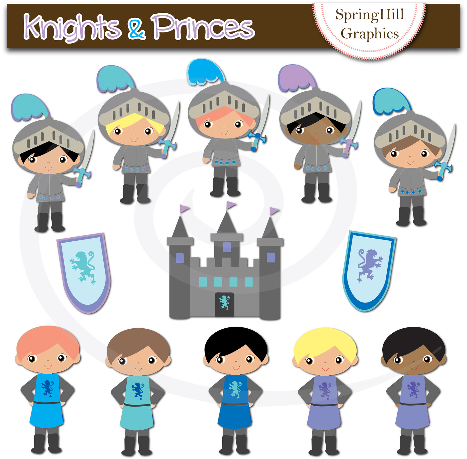 Knights clipart - Clipground