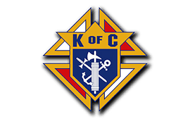 Church of the Holy Family: Knights of Columbus.