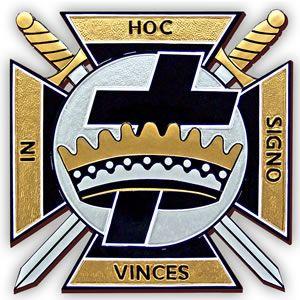York Rite Knights Templar Emblem.