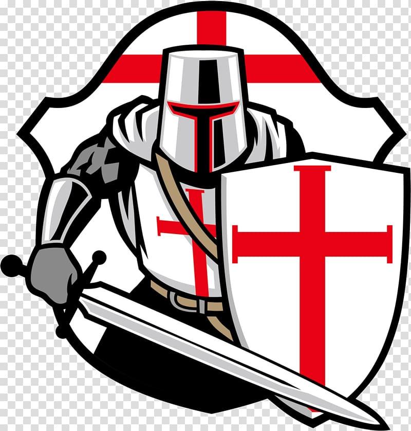 Crusades Knights Templar, knight shield transparent.