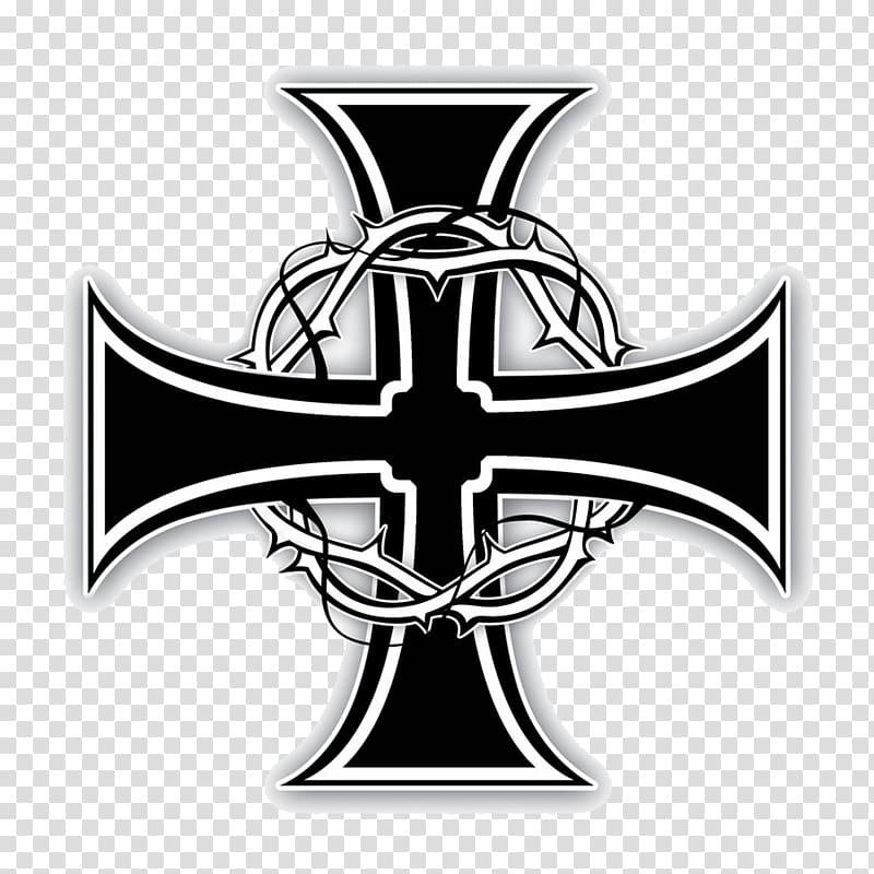 High cross Knights Templar Seal Christian cross Tattoo.